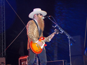 ZZ Top Live Band