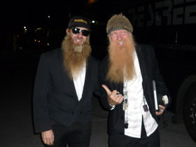 Billy Gibbons of ZZ Top & Bruzzler